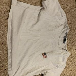 american flag embroidered tshirt